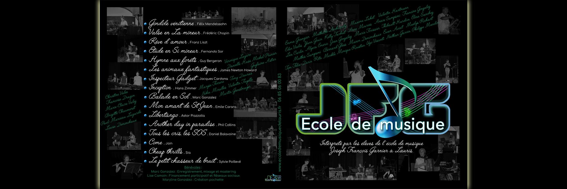 Projet 2018 : CD des Elèves